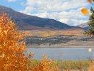 Fall colors at Twin Lakes, CO